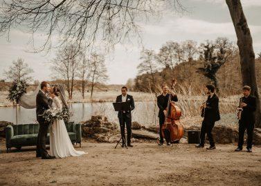 Hochzeitsidee: Micro-Wedding in Jugendstilvilla