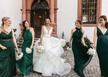Schloss Walkershofen: Moderner Cinderella Hochzeitstraum