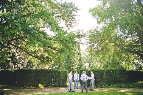 Romantische DIY-Hochzeit in den Wäldern der Eifel