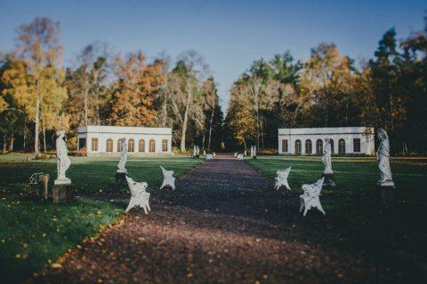 Schwedische Herbsthochzeit im Chateau Gimo Herrgard