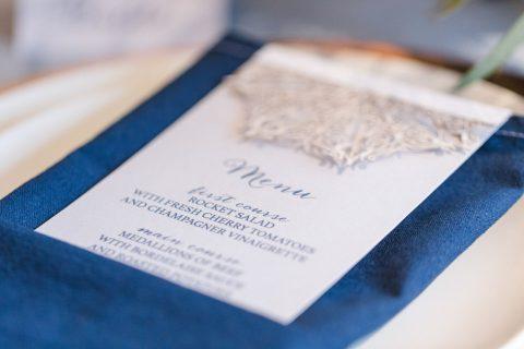 Wintertime Love in Blau und Kupfer